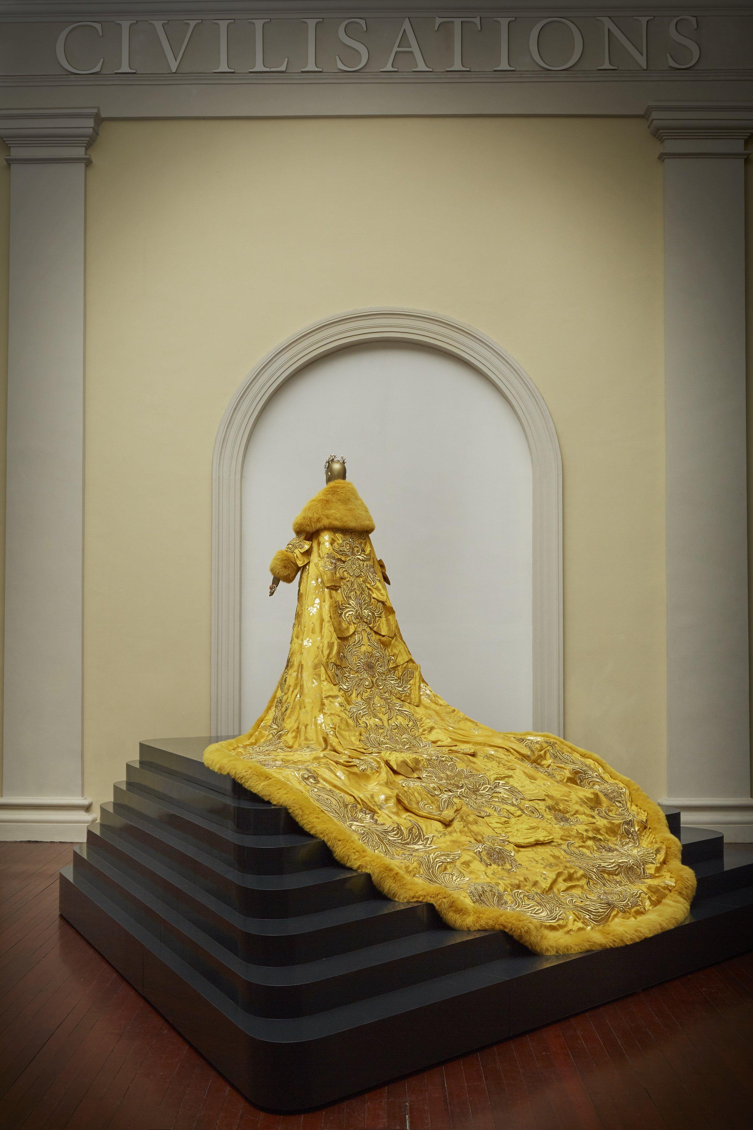 黄皇后 (Yellow Queen). Image courtesy of Asian Civilisations Museum.
