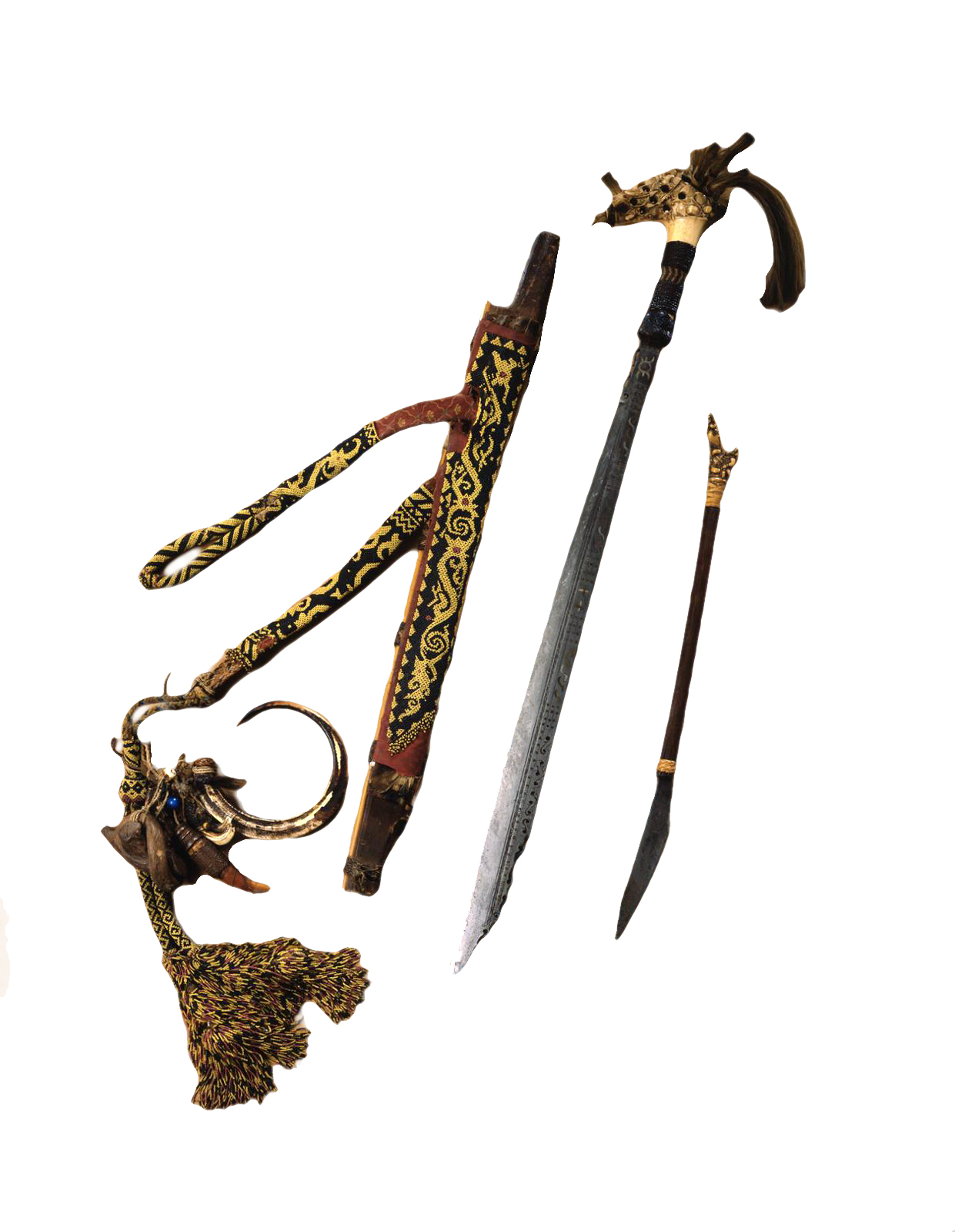 Kayan Sword | Borneo © University of Pennsylvania Museum of Archaeology and Anthropology