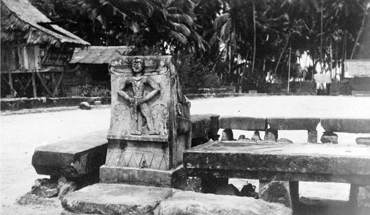 Gathering Place with Stone Benches, Batu Islands © Nationaal Museum van Wereldculturen | The Netherlands