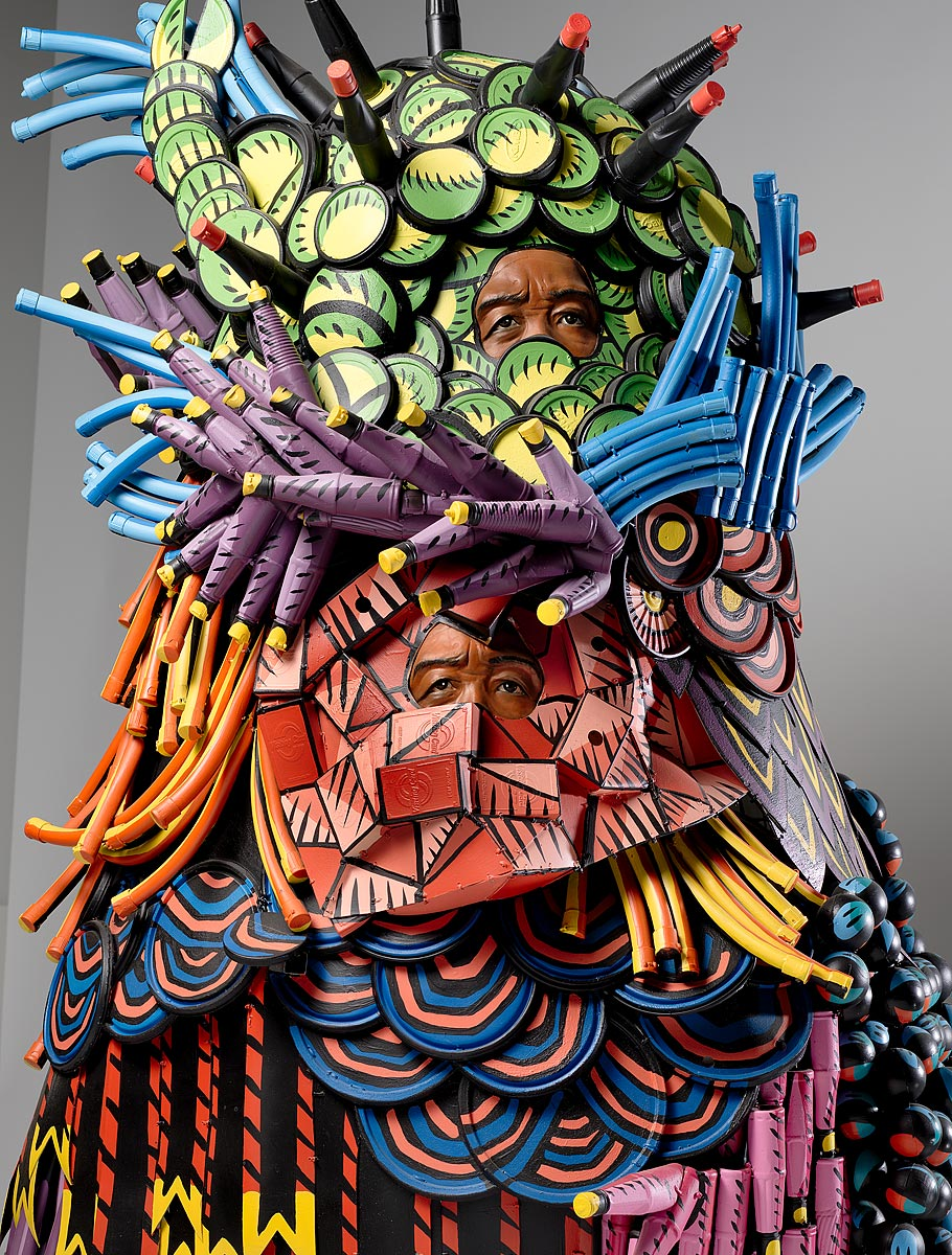 Eko Nugroho    Carnival trap 1  2018 resin, wire, upcycled plastic, iron and synthetic polymer paint  Purchased 2018 National Gallery of Australia