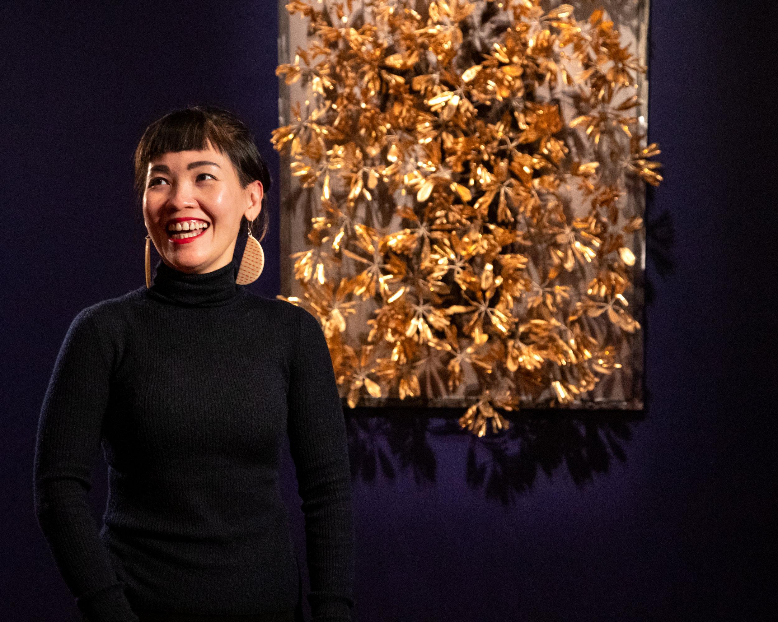 Artist  Octora  with  Samsara  (2017)