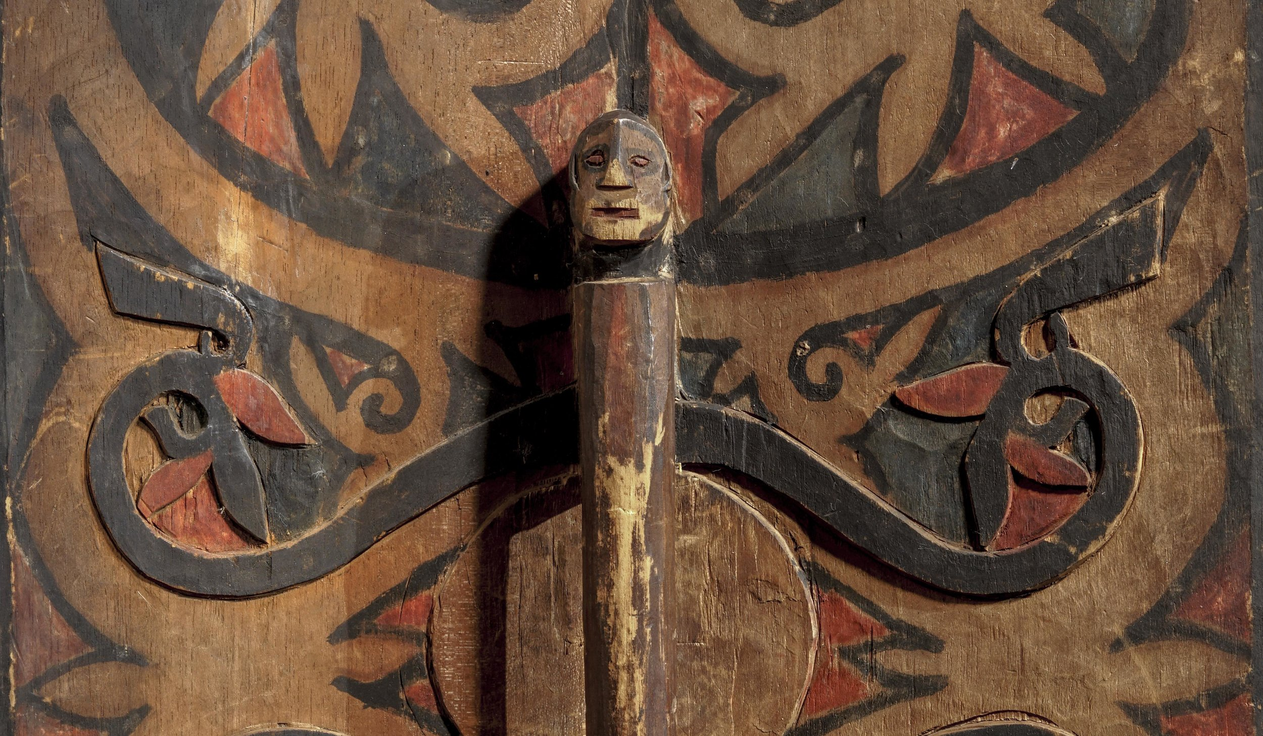 Dayak, probably Iban, 19th century. (Detail) Image courtesy of Bill Evans