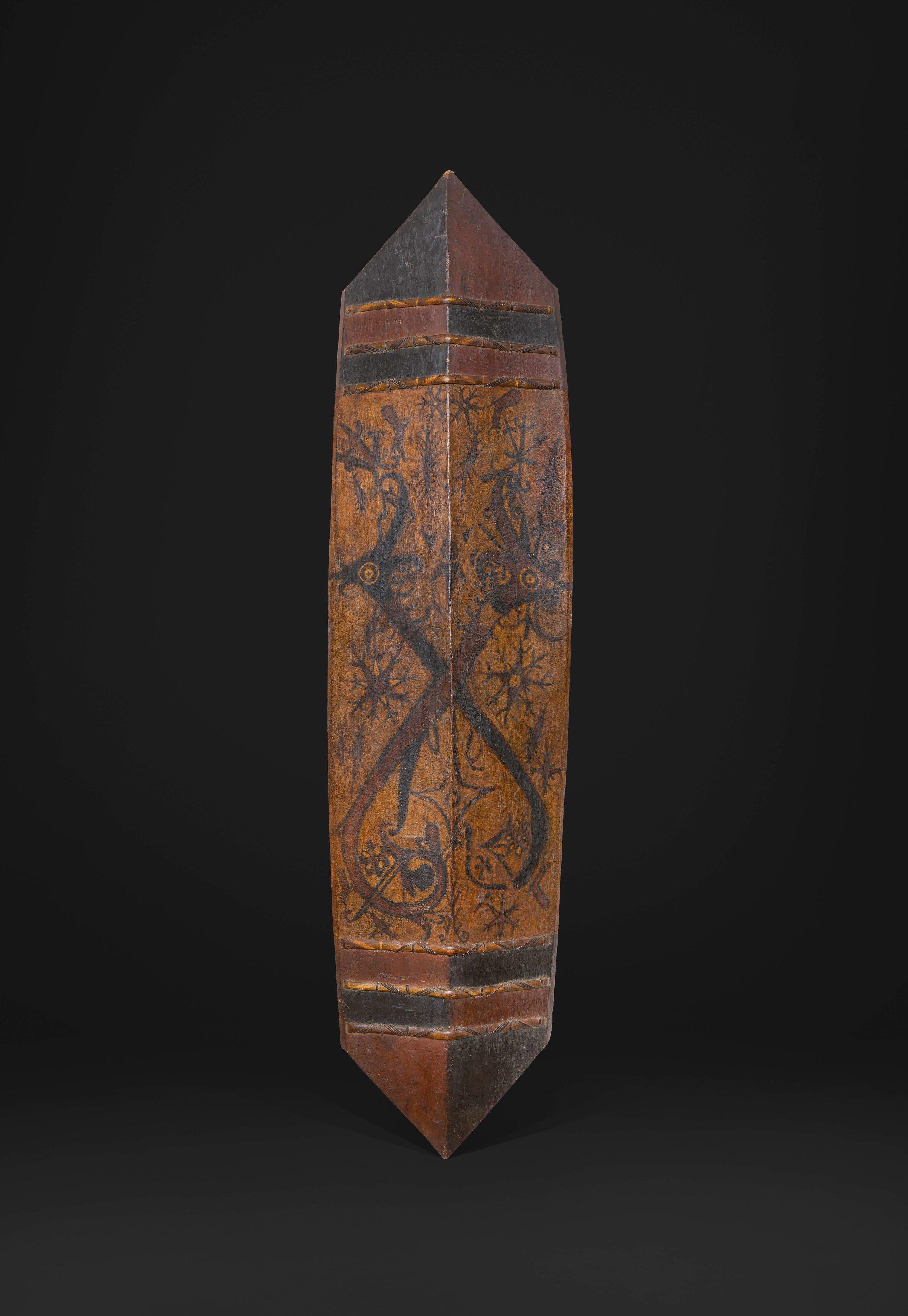 Dayak, possibly Ngaju, 19th century. Image courtesy of Bill Evans