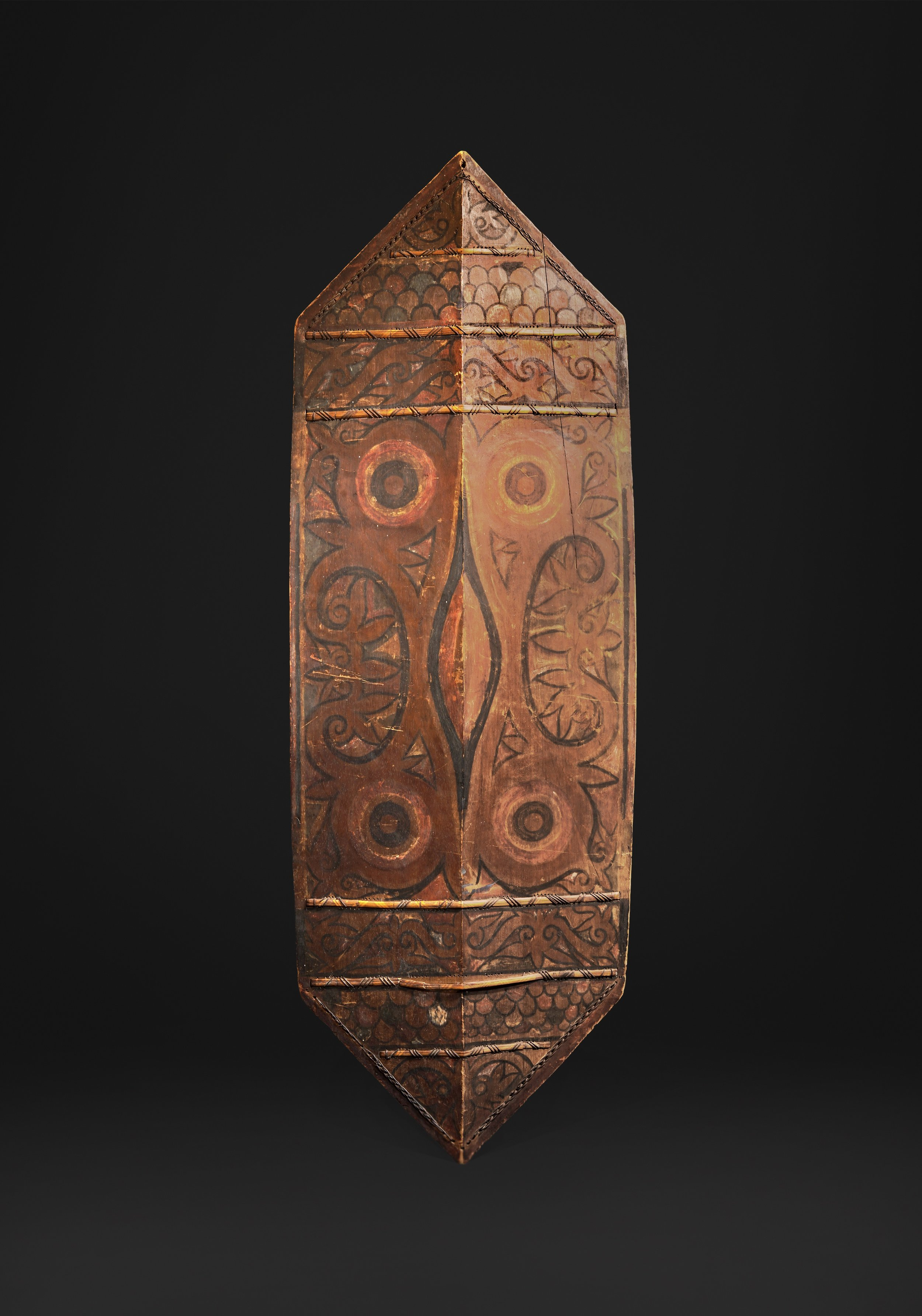 Dayak, probably Iban, 19th century. (Front) Image courtesy of Bill Evans
