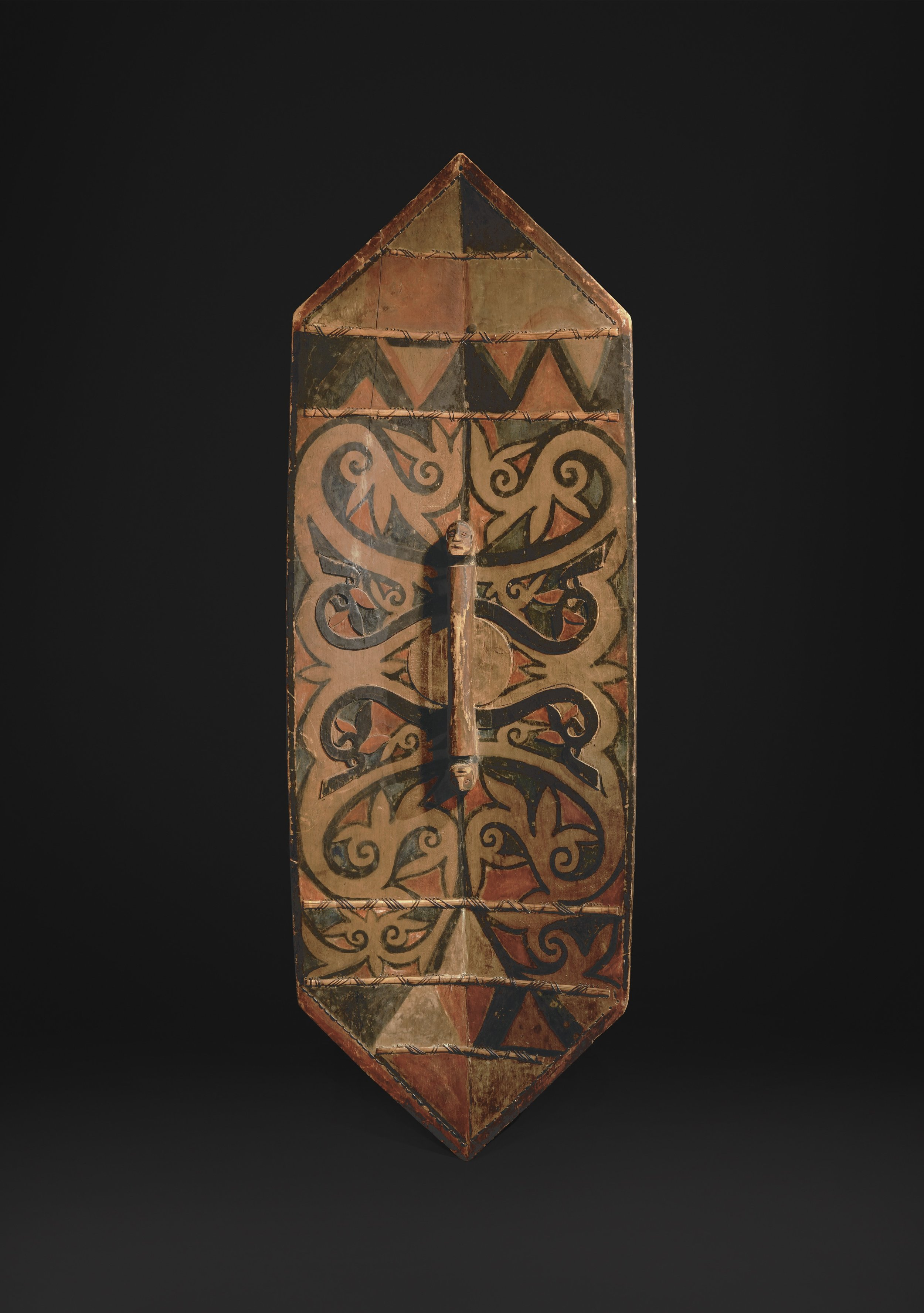 Dayak, probably Iban, 19th century. (Back) Image courtesy of Bill Evans