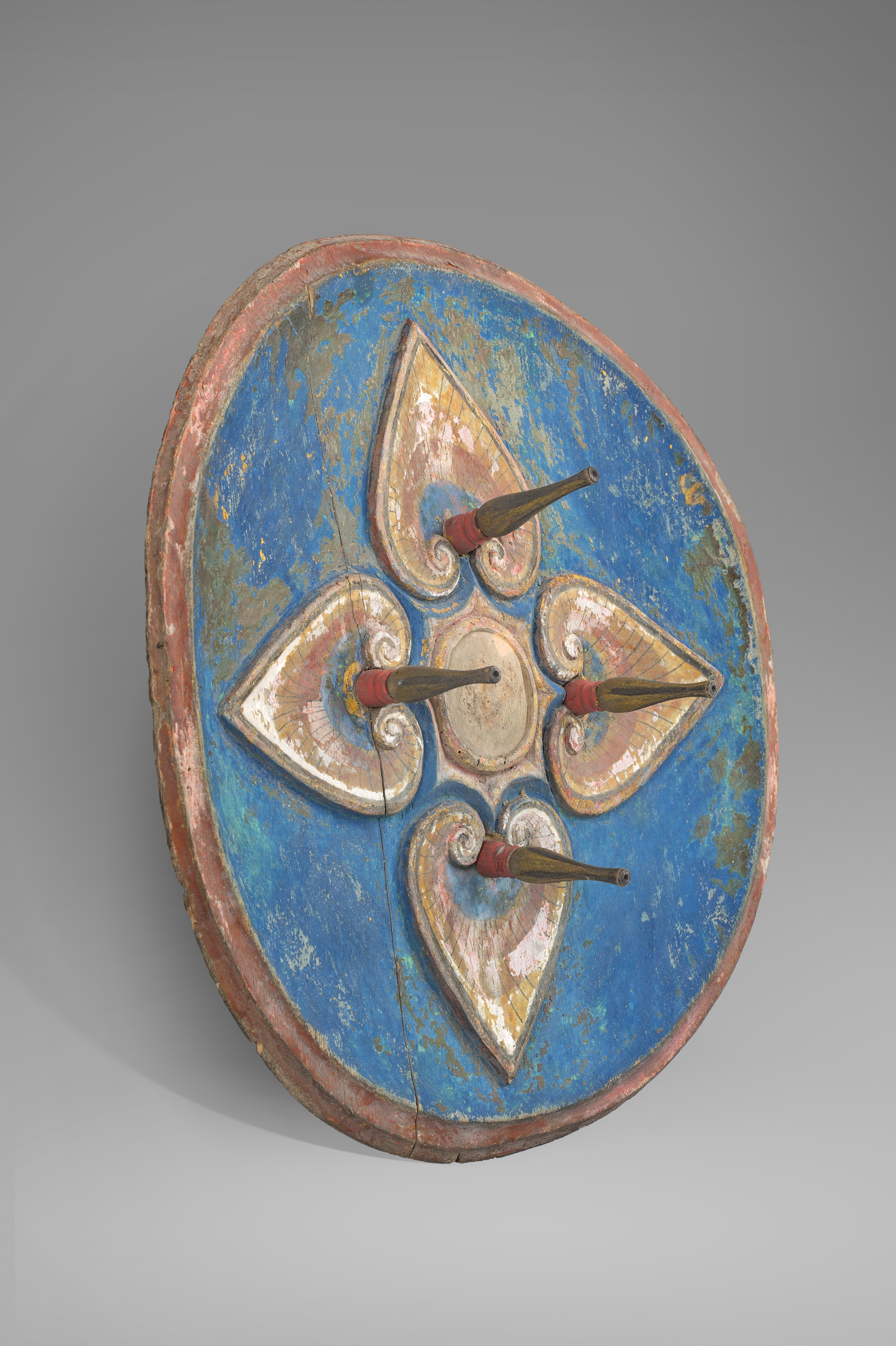 Bali, ceremonial shield, ca 1930. Image courtesy of Bill Evans