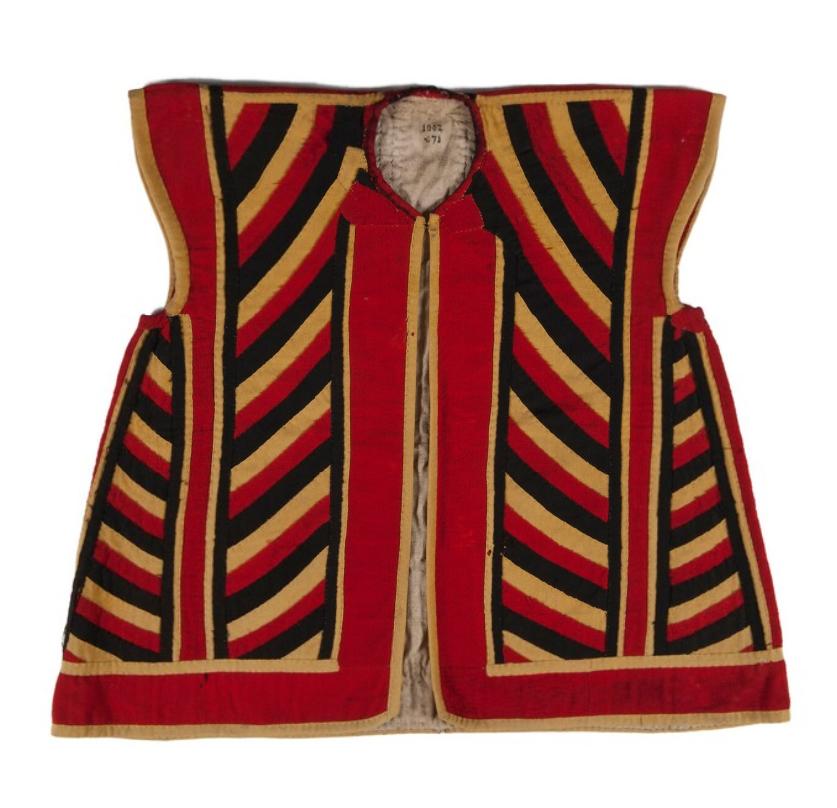 Ceremonial Man's Coat. South Nias. Before 1894. © Nationaal Museum van Wereldculturen | The Netherlands