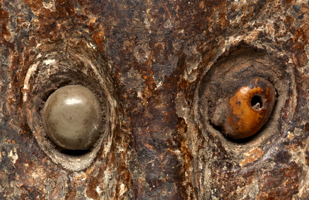 Detail of  Belu  Ceremonial Mask    Biola  © The Dallas Museum of Art   Texas, USA