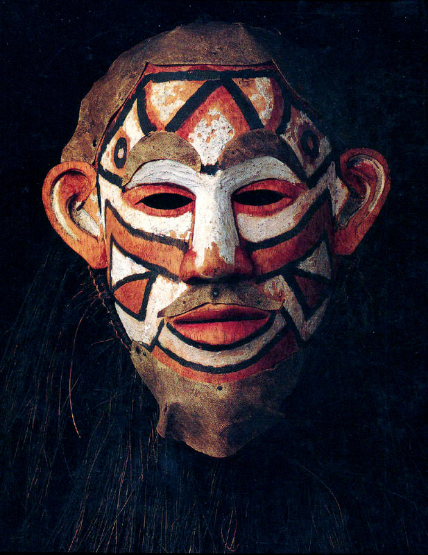 Mourning Mask    Topeng  © Museum Nasional Indonesia