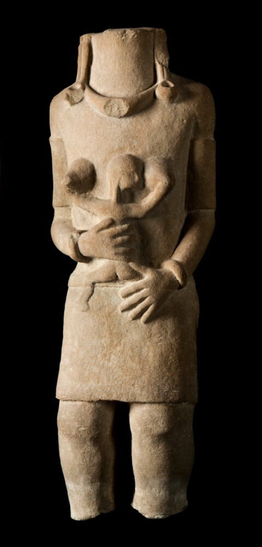Memorial in Stone of Mother and Child © Nationaal Museum van Wereldculturen   The Netherlands