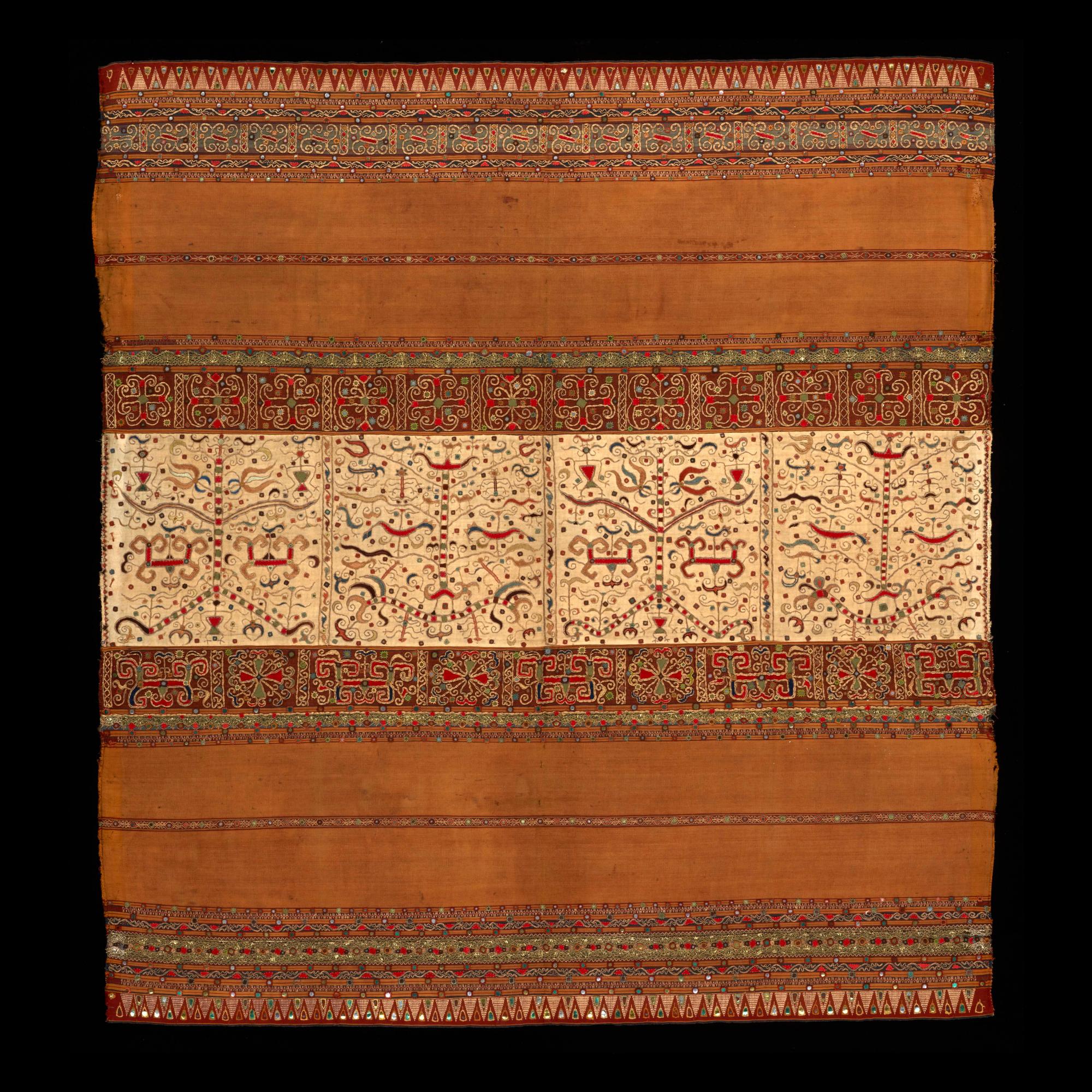 Woman's Ceremonial Skirt    Tapis   © The Dallas Museum of Art   Texas, USA