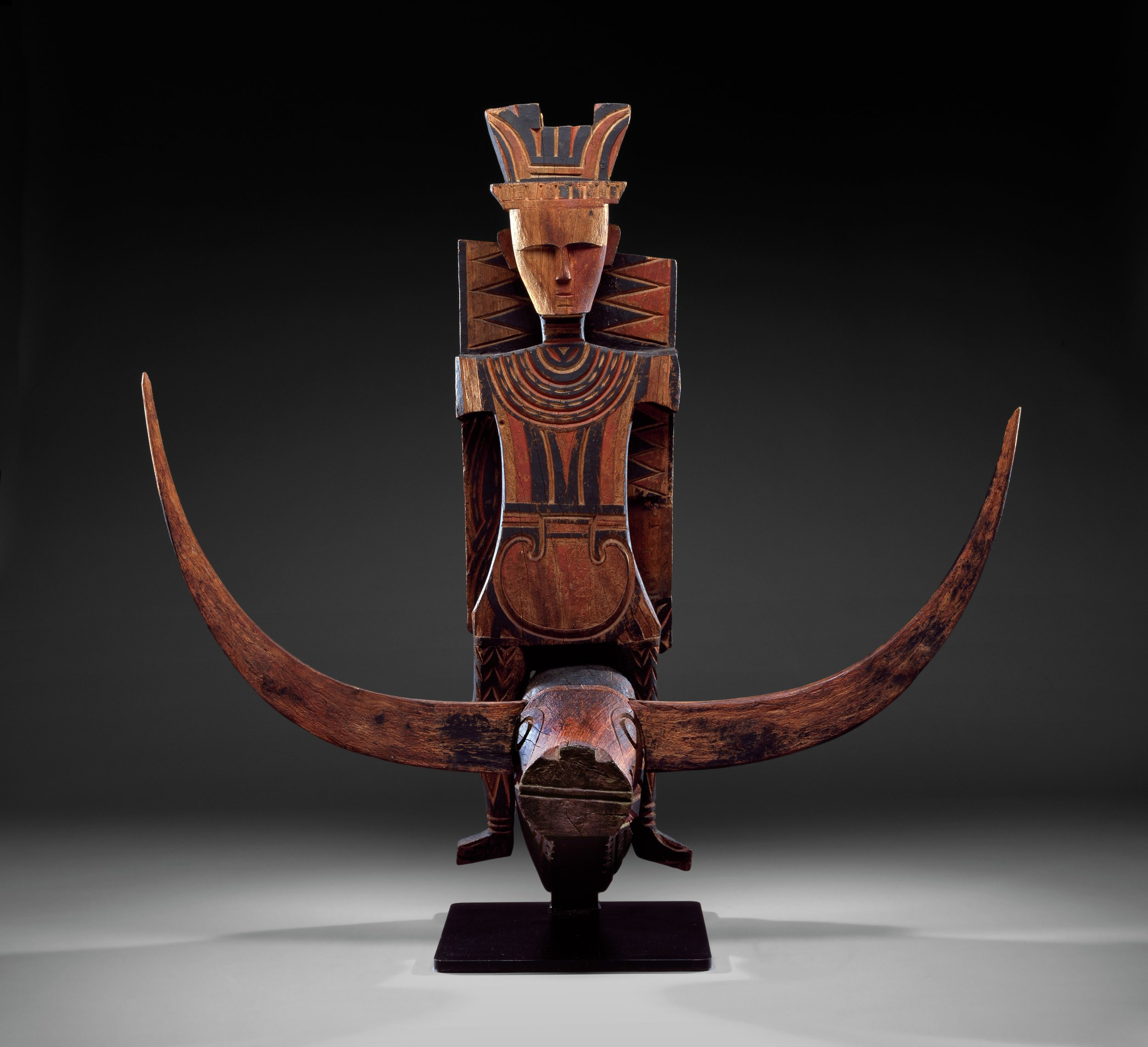 Vaunted Ancestor Figure from a Mamasa Aristocrat's House © The Dallas Museum of Art   Texas, USA