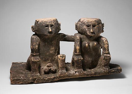 Pair of Nage Ancestor Figures    Ana Deo  © The Metropolitan Museum of Art   New York, USA