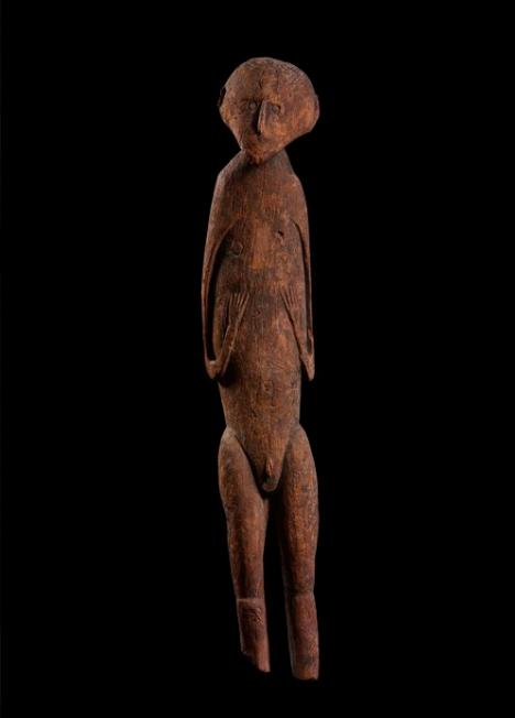 Female Ancestor Figure   Lake Sentani  © de Young Museum FAMSF   California, USA