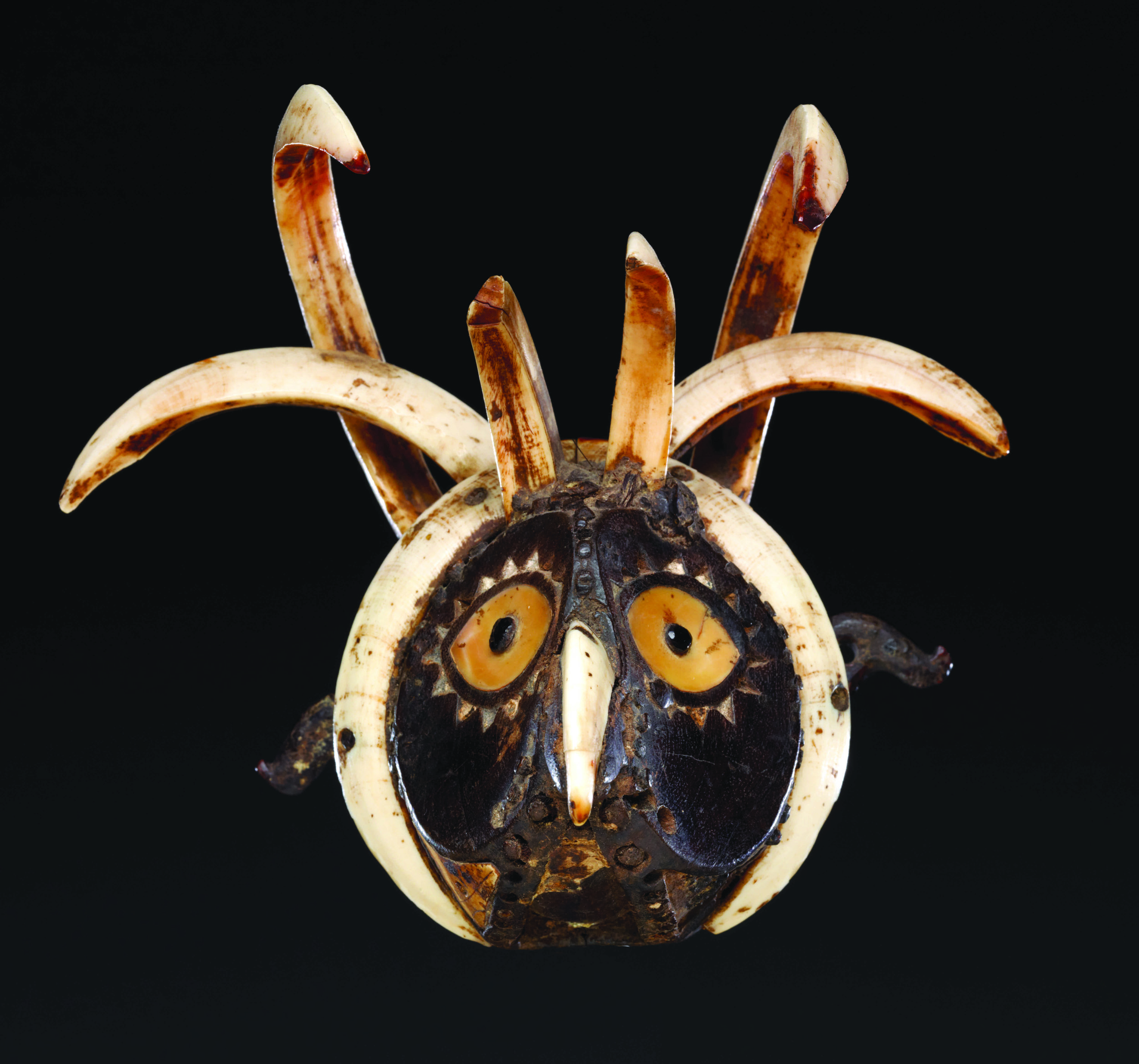 Leti Mouth Mask    Luhulei  © The Dallas Museum of Art   Texas, USA