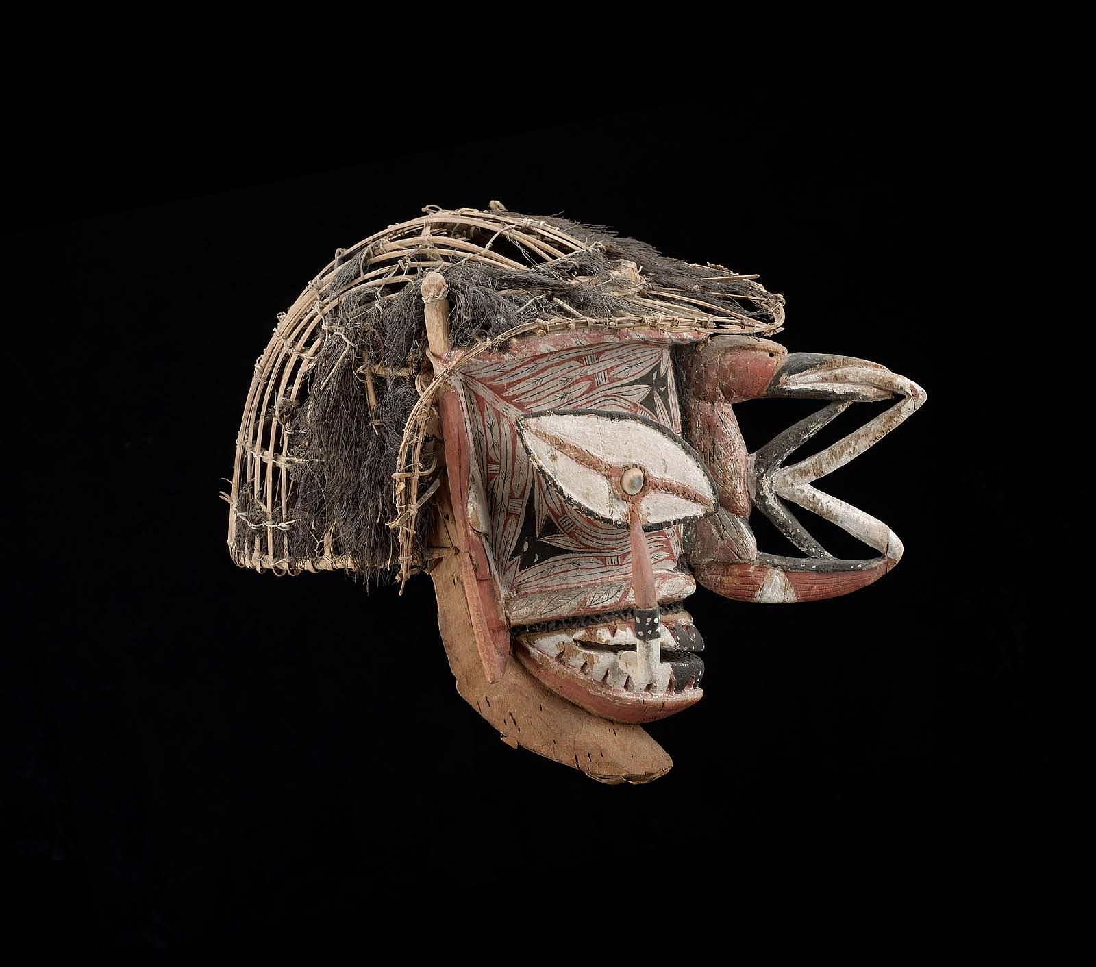 Mask |  Kepong  /  Ges  | New Ireland © Museum of Fine Arts, Boston