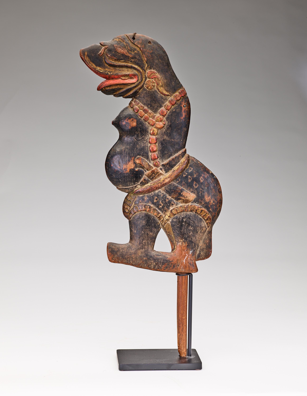 Wayang Klitik Puppet of Sabda Palon   Java   Private Collection