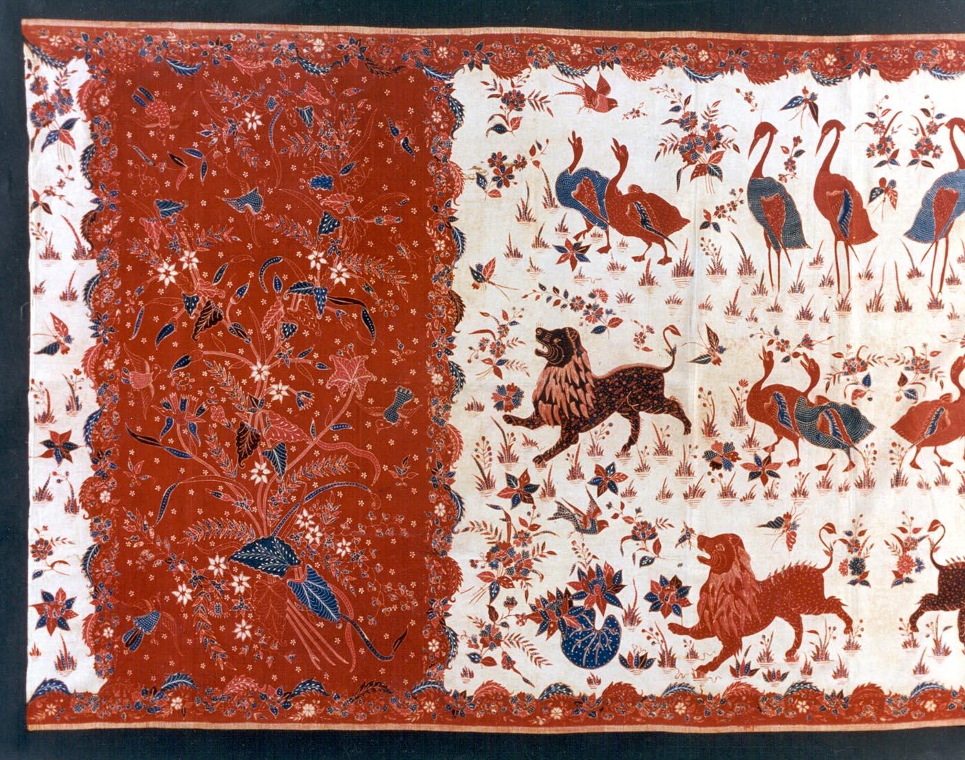 Indo European Batik Tulis   North Coast Java   Private Collection