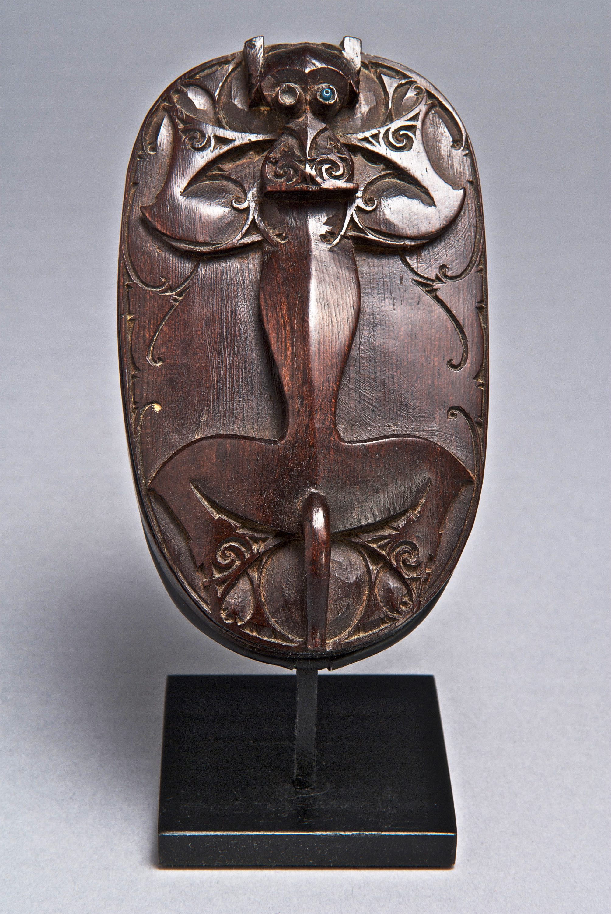 Box Lid Depicting a Mythical Animal © Yale University Art Gallery | Connecticut, USA