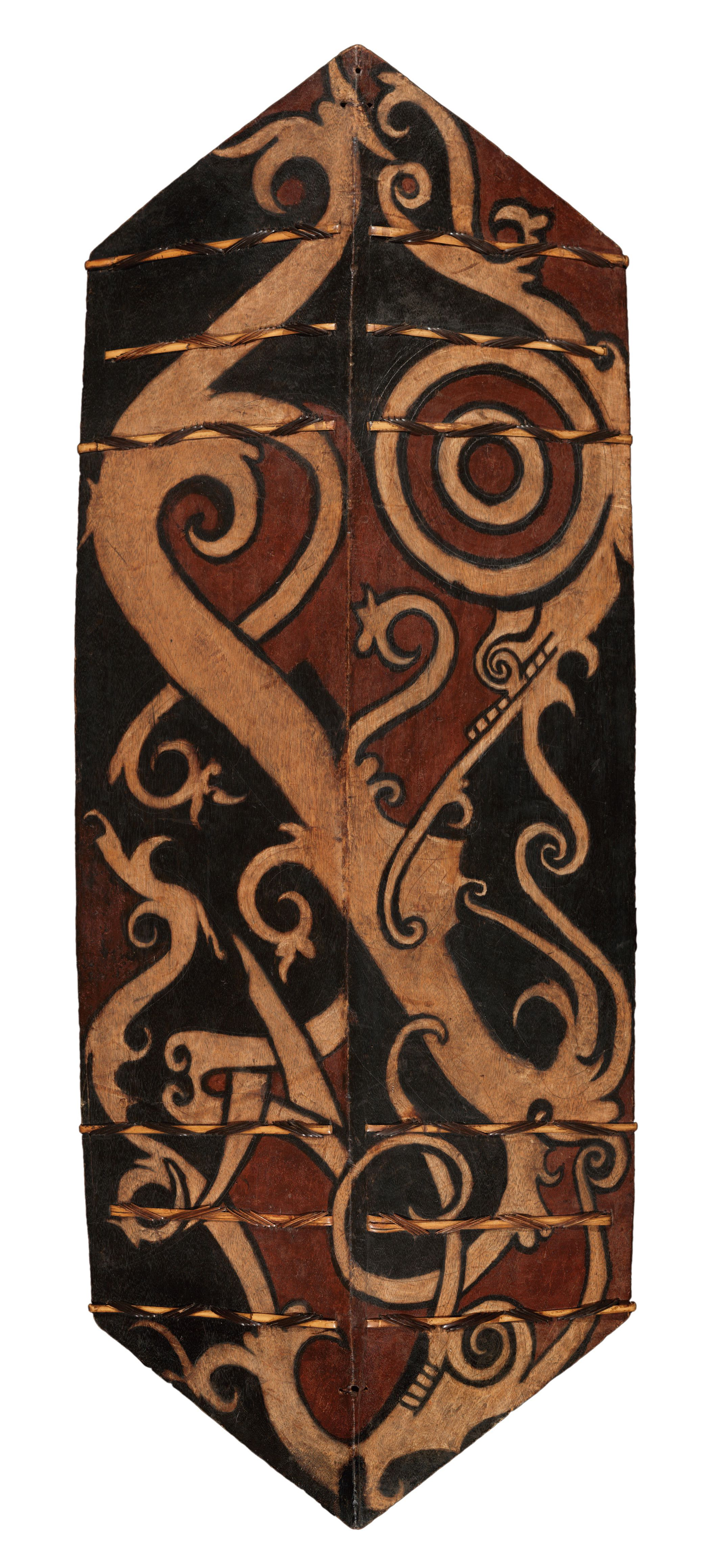 Warrior's Shield |  Kelbit/Kelempit/Kliau/Talawang  © The Dallas Museum of Art | Texas, USA
