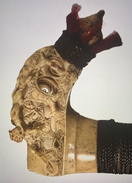 Sword Hilt Detail |  Mandau  © Asian Civilisations Museum | Singapore