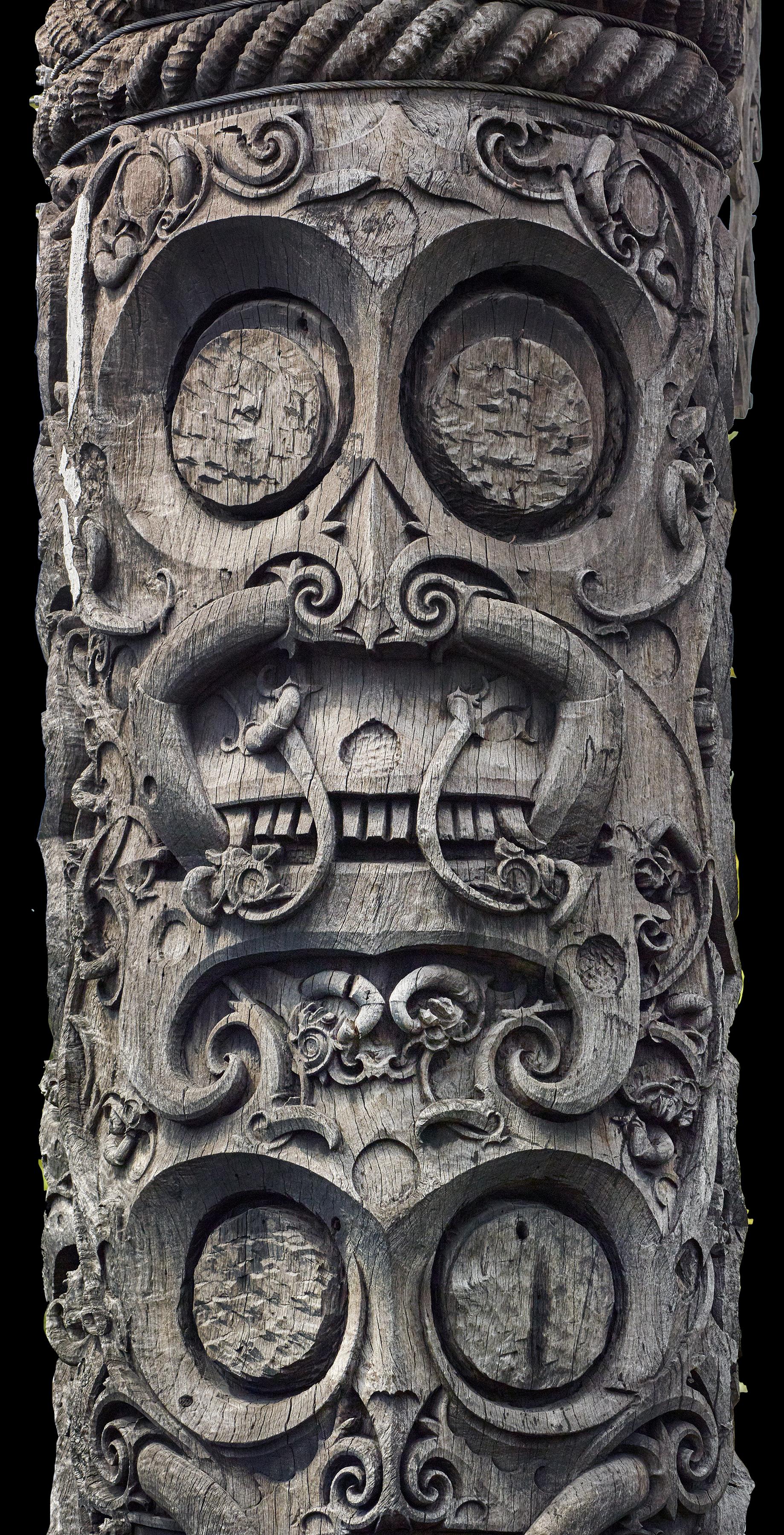Totemic  Punan  Pole © Sarawak State Museum | Malaysia