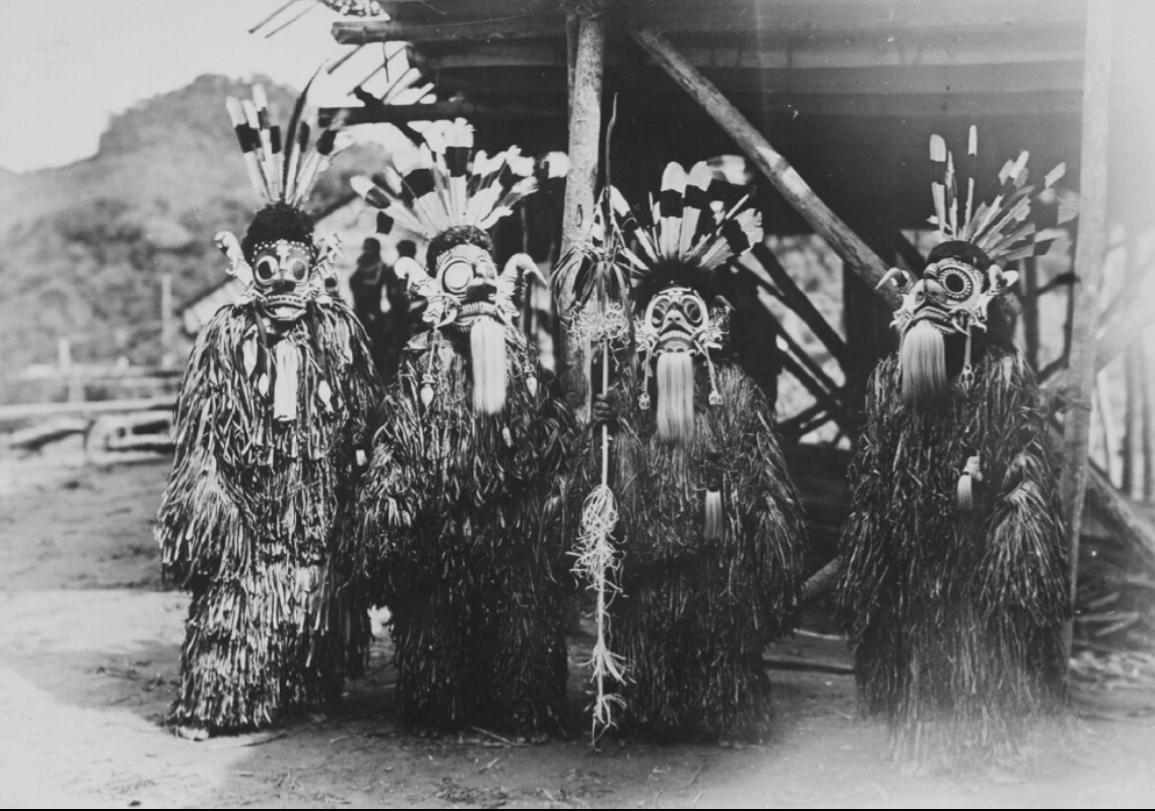 Hudoq  Dancers © Tropenmuseum | Nationaal Museum van Wereldculturen