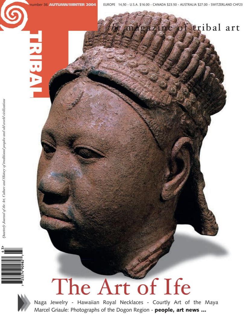 Tribal Art Magazine Autumn Winter 2004 Number 36