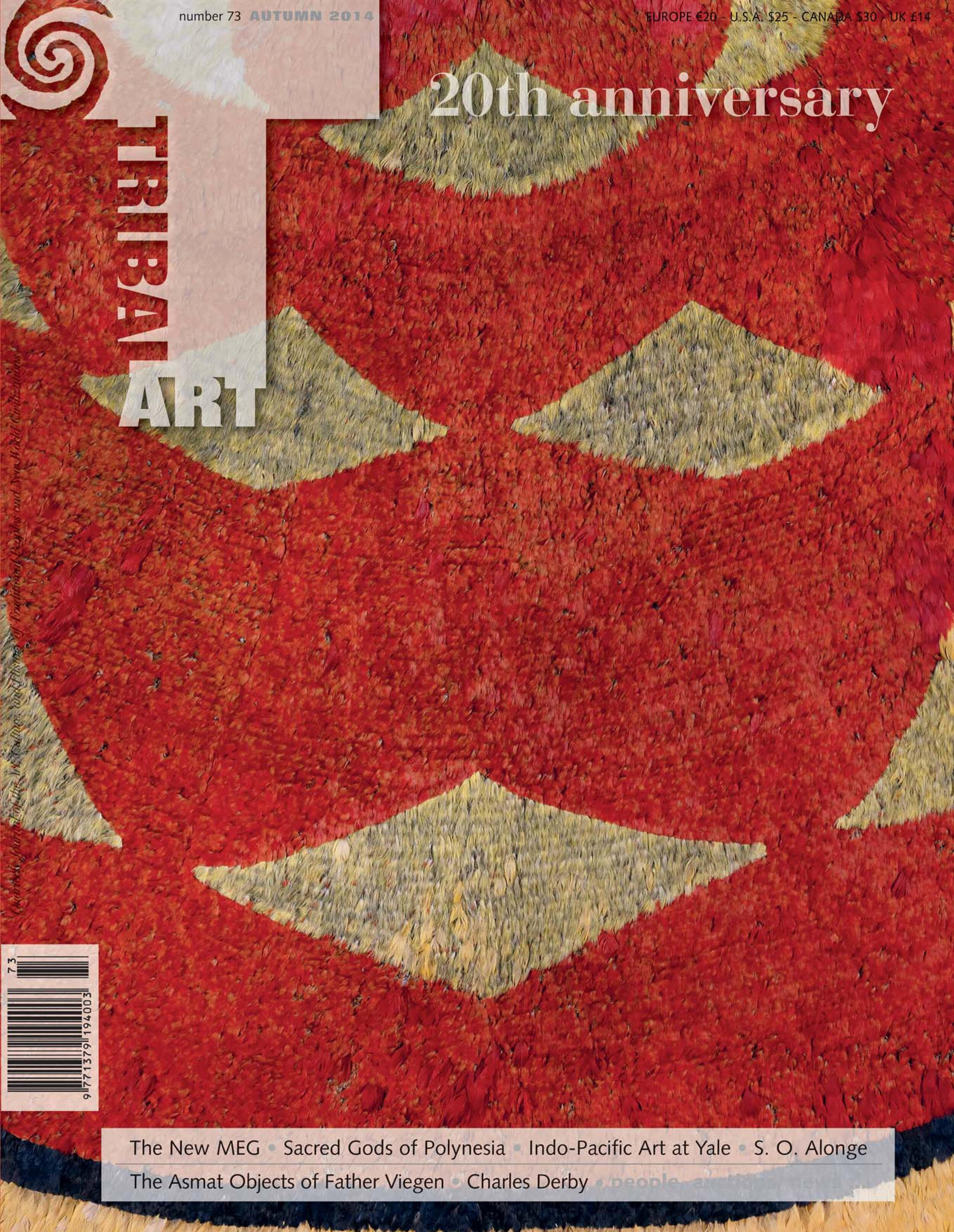 Tribal Art Magazine Autumn 2014 Number 73