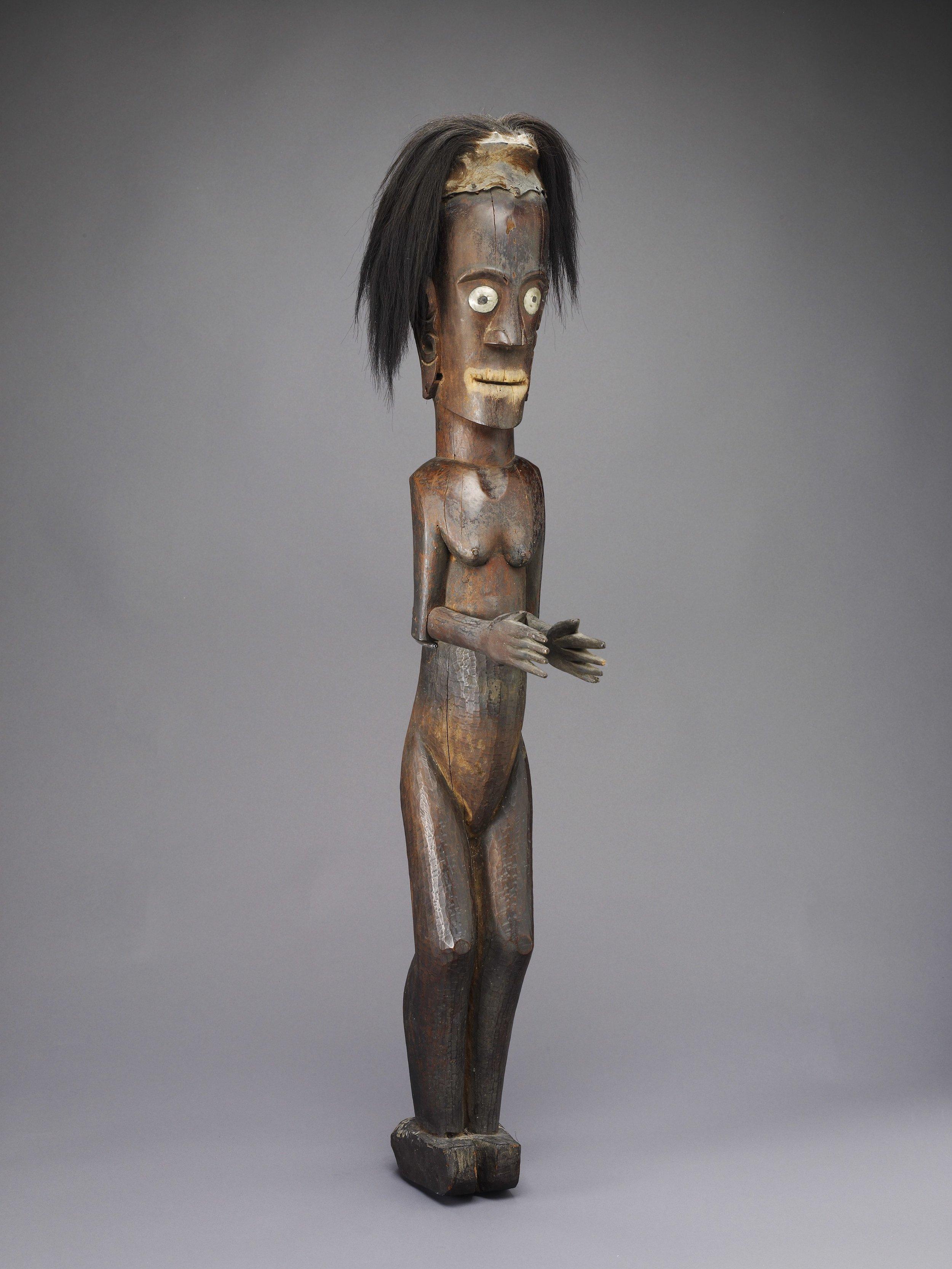 Batak Protective Statue |  Pagar  | North Sumatra © de Young | Fine Arts Museums of San Francisco