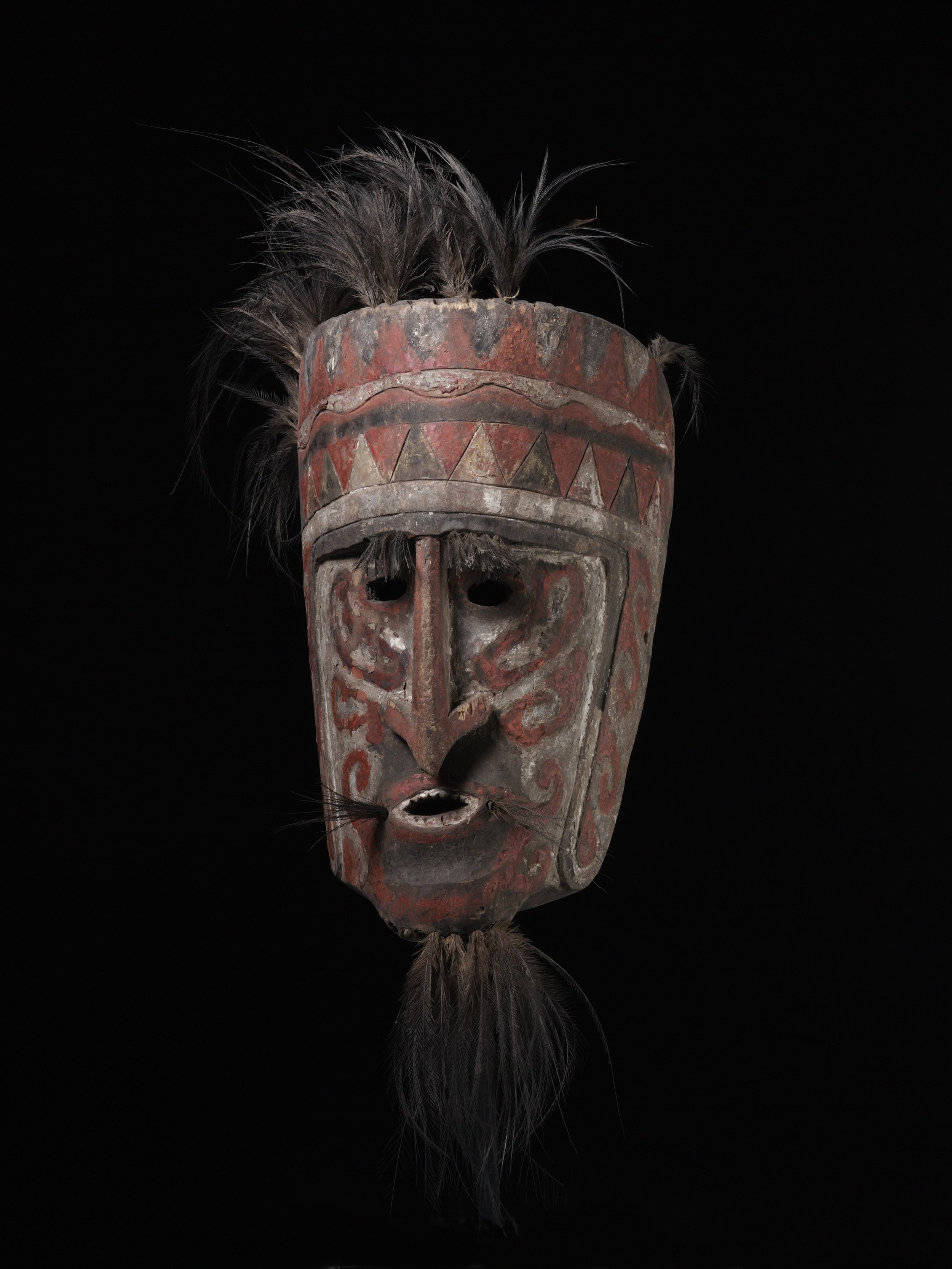 Wandalai Dance Mask | West Papua © de Young | Fine Arts Museums of San Francisco