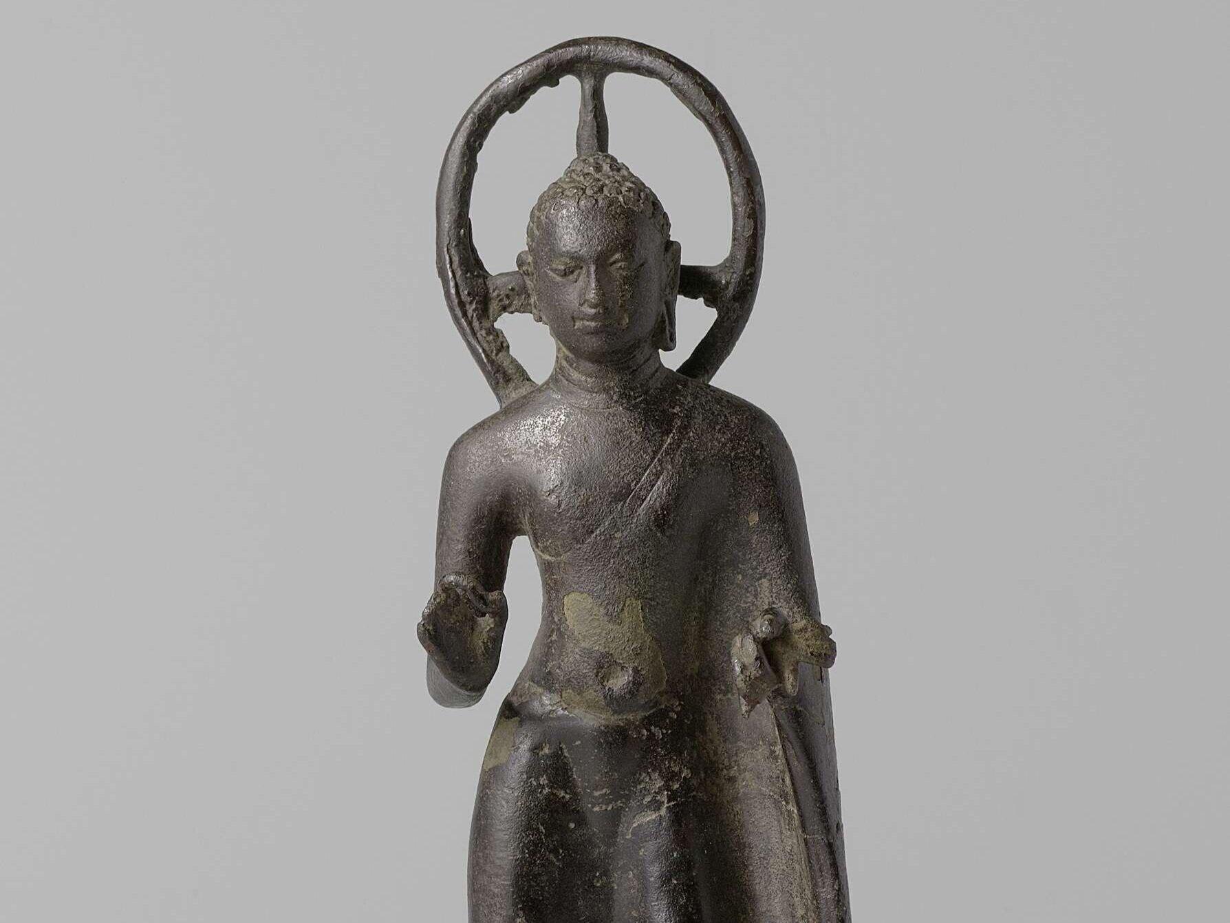 Standing Buddha, Anonymous, 600 - 800. © Rijksmuseum