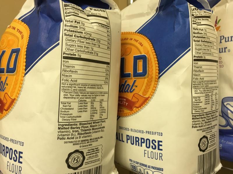 food pantry - flour
