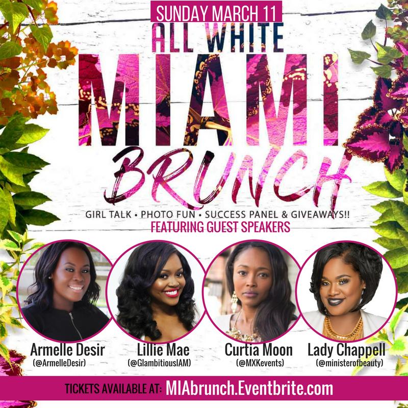 Glambitious All White Brunch (March 11,2018)   Miami, FL