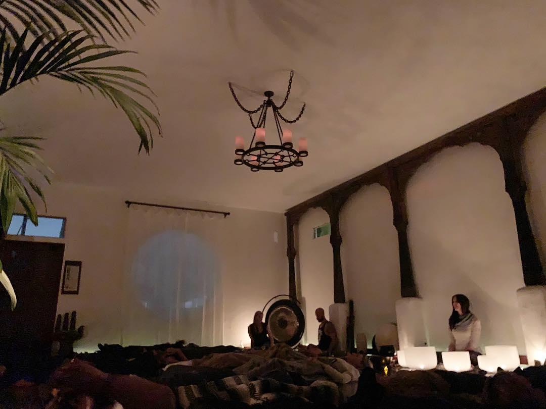 Sonic Being Sound Bath at Sanctum Venice CA Michelle Berc Skye Ray