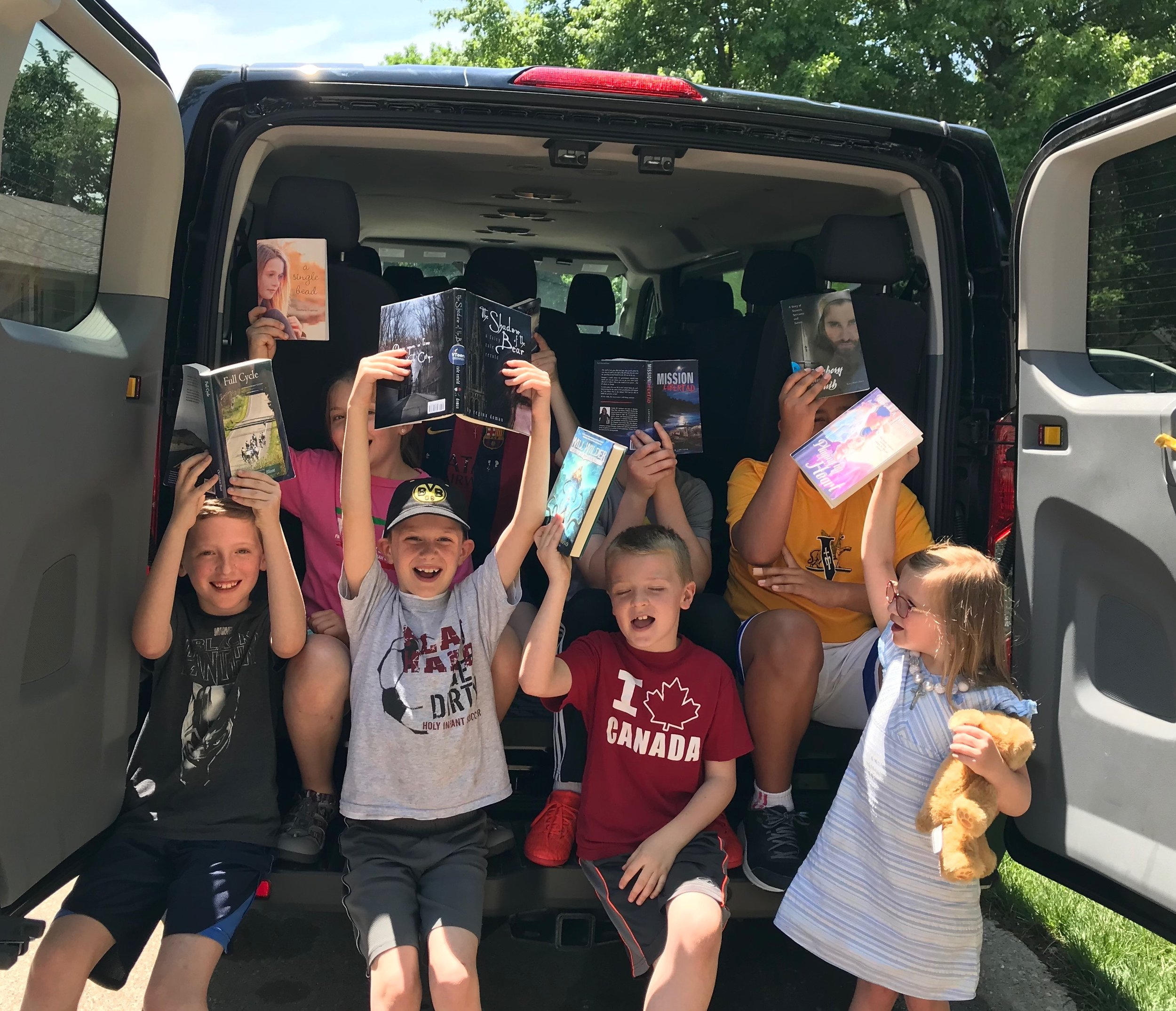 The Summer Virtue Bookmobile
