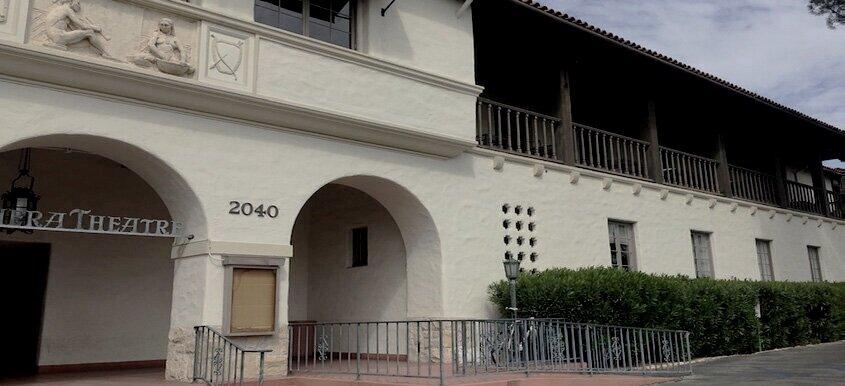 The Riviera Theatre - Santa Barbara, California