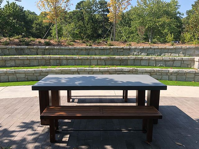 New updates at the Linear Park!  #districtatchamblee #linearpark #outdoorworkspace #outdoorconferencecenter
