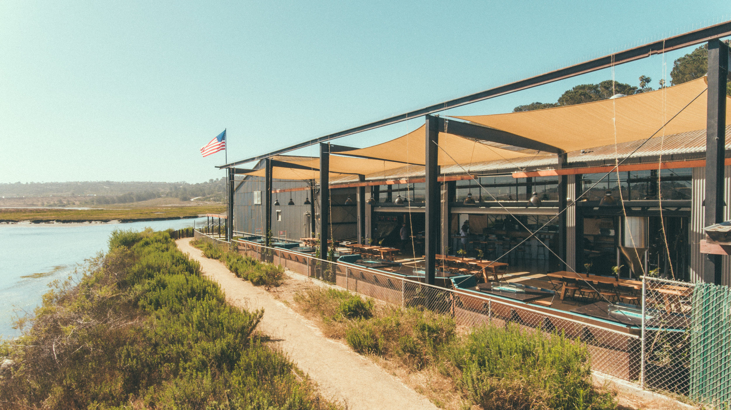 Viewpoint Brewing Company - Outdoor, waterfront brewery right on the San Dieguito Lagoon