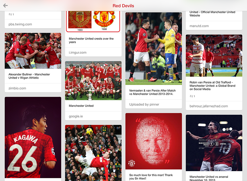 My Manchester United 'Red Devils' Board on Pinterest