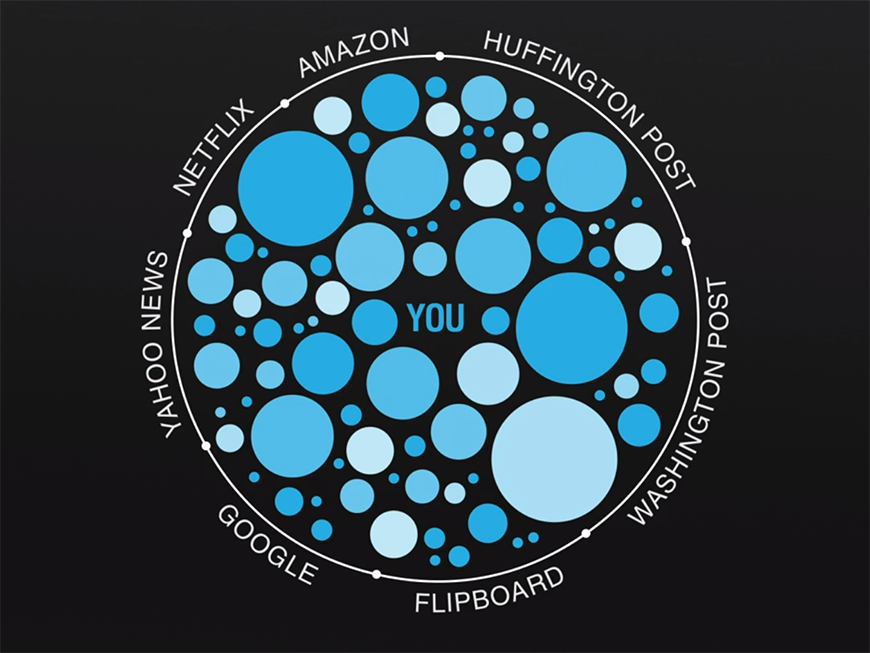 Filter Bubble - Over-Personalised Internet - Filtered