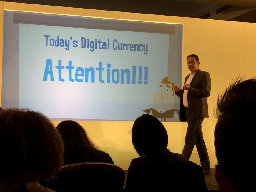 David Mark Shaw at New Media Europe 2015