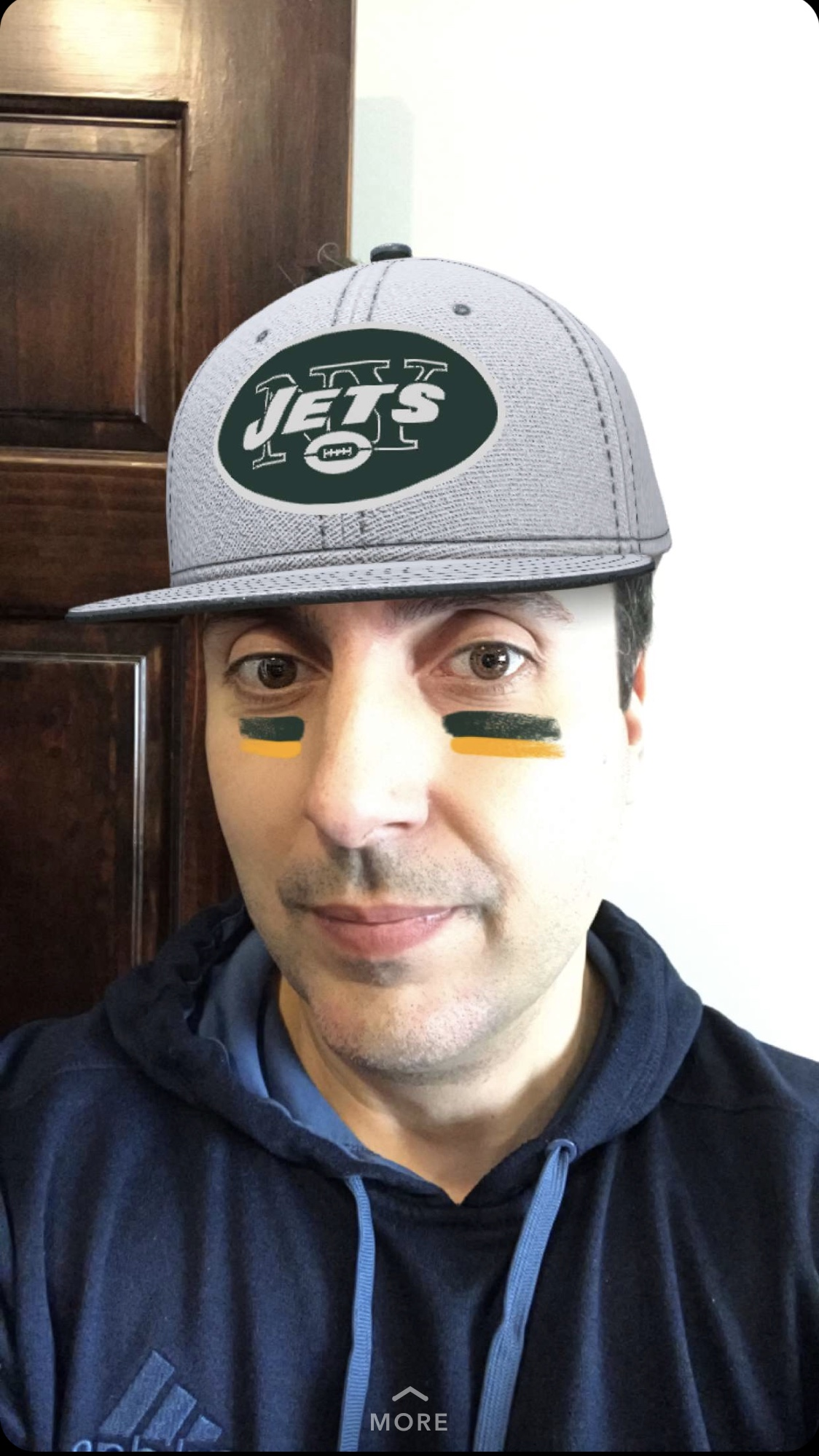 Our Friend Michael Tatsis -  @mikilikit  - was the first to try our  NY Jets Cap Lens