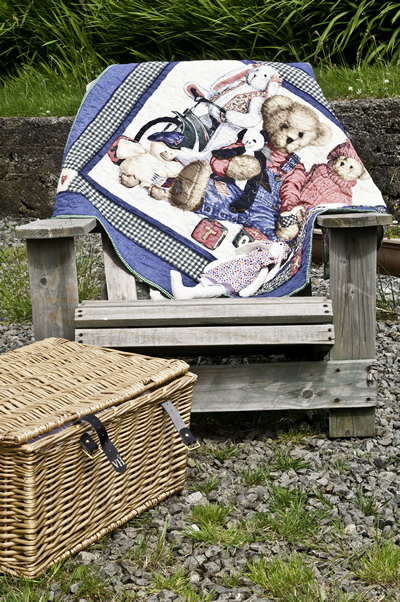 Teddy Bear Cot Quilt