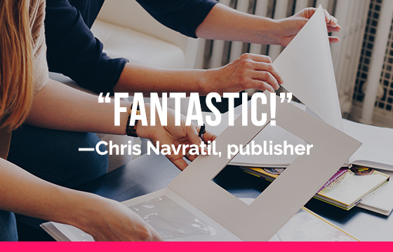 Are you ready to get your book into the hands of readers? Our experts work in integrated teams to manage every detail on your behalf. We know publishing; you don't have to. -