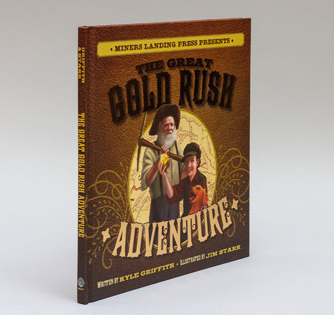 The Great Gold Rush Adventure book cover