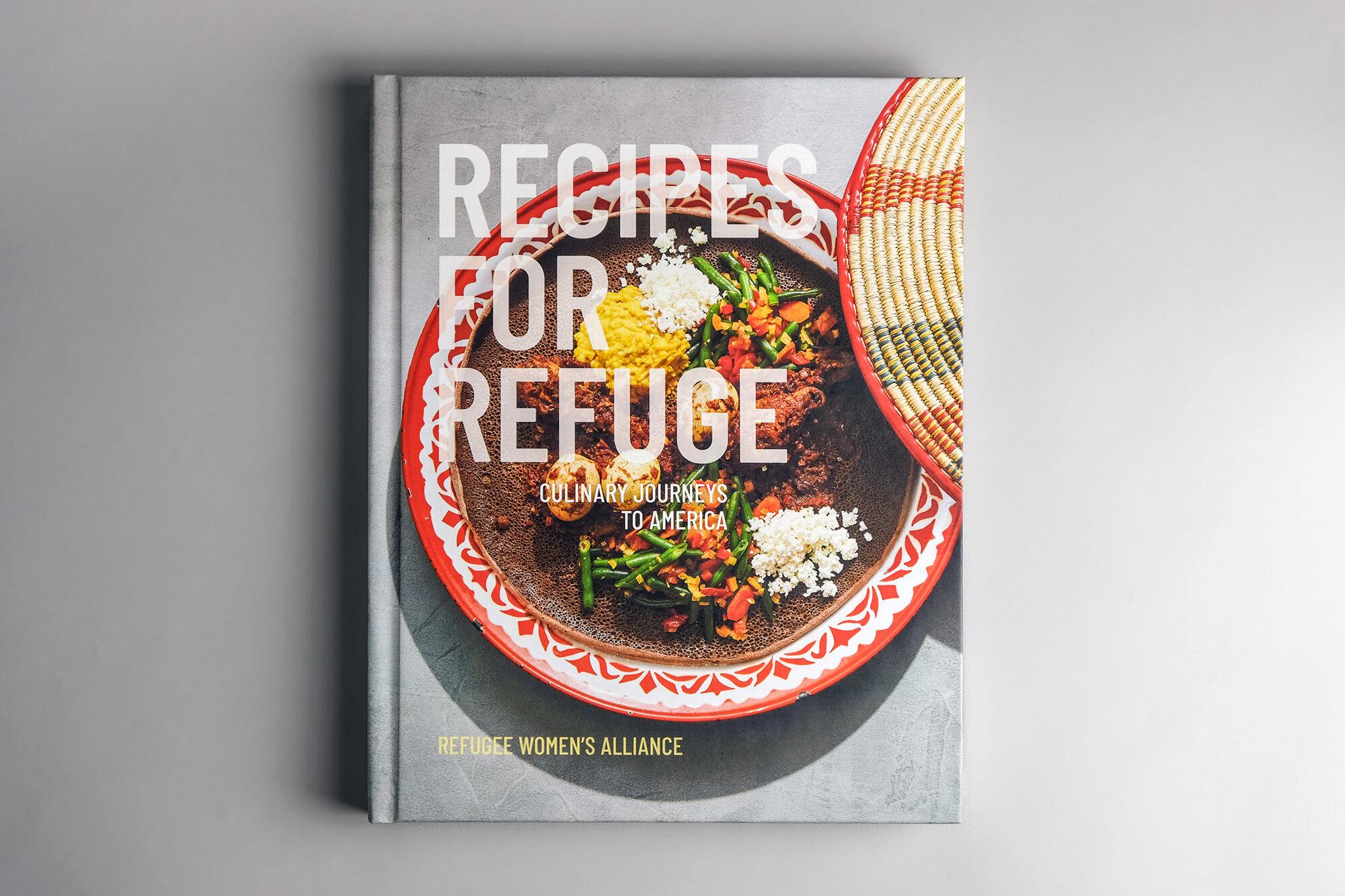Recipes for Refuge book photo