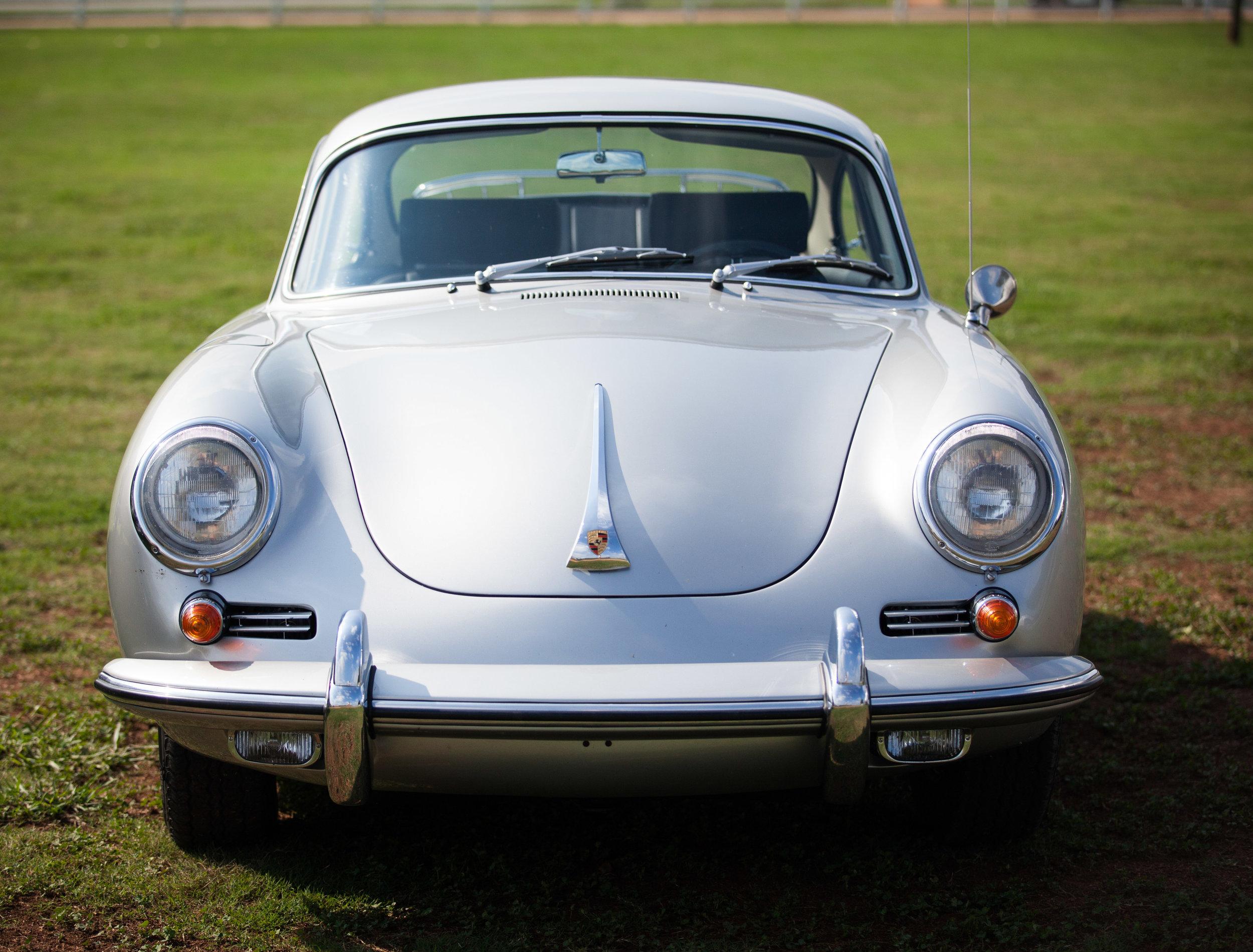 Front View, Porsche 356SC