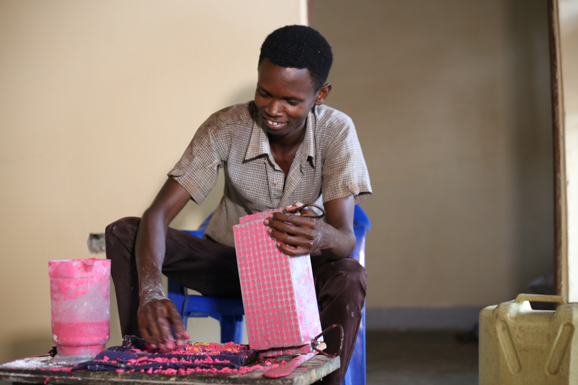 - Venturing into soap making to wash off poverty. Read More