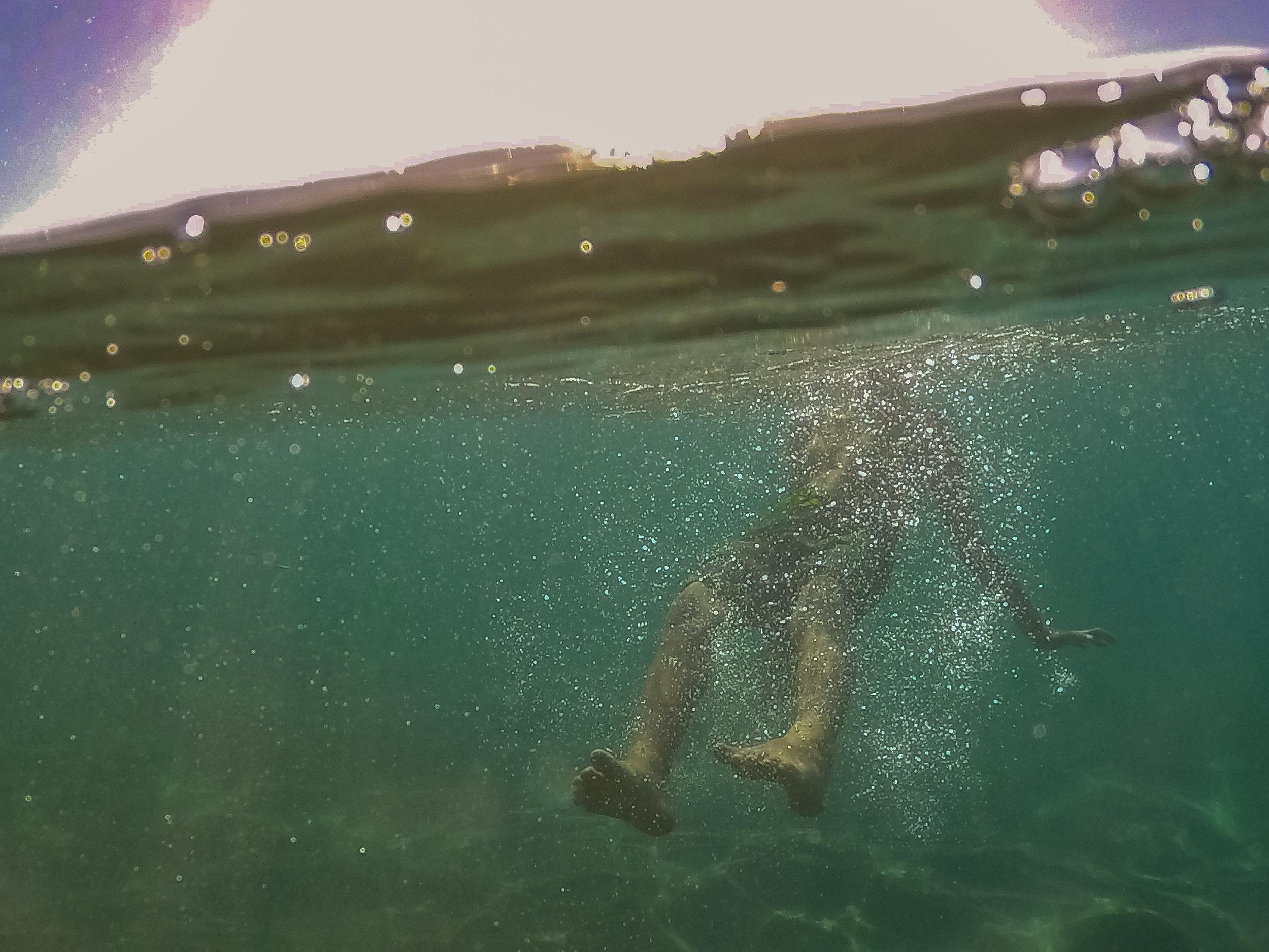 underwater maui beach